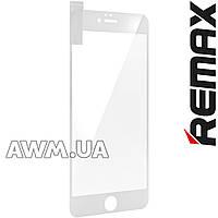 Защитное стекло REMAX Anti-Blue Ray iPhone 6 Plus (белый)
