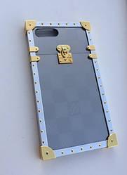 """Чехол Eye-Trunk Louis Vuitton для iPhone 7 Plus """"Зеркальный"""""""