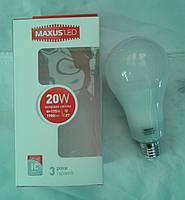 Светодиодная лампа Maxus LED-5610 20W E27 4100К (белый нейтральный)