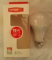 Светодиодная лампа Maxus LED-567 15W E27 3000К