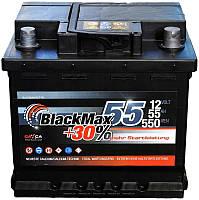 Автомобильный аккумулятор BlackMax 6СТ-55 (S5002)