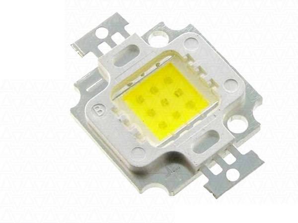 Светодиод 10Вт 10w 800-900LM 9В 600MA 6000-6500К, фото 2