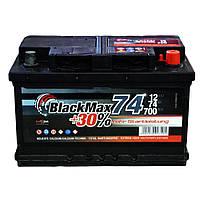 Автомобильный аккумулятор BlackMax 6СТ-74