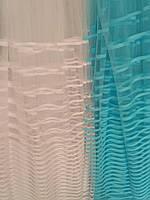 Фатин с голубыми полосками, фото 1