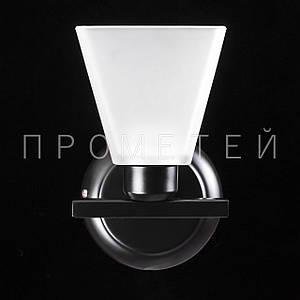 Бра на 1 лампочку. P3-1129/1W/BK+WT