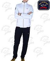Брендовый спортивный костюм Paul Shark,белый верх,т.синий низ