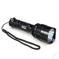 Мощный светодиодный фонарь (фонарик) UltraFire C11 на диоде CREE XM-L T6 с отражателем прожекторного типа