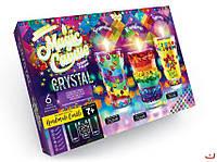 """Набор для творчества """"Magic Candle Crystals"""" Парафиновые свечи с кристаллами"""