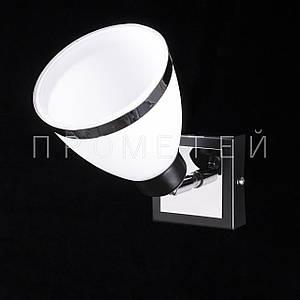 Бра спот на 1 лампочку. P3-11660/1AW/BK+CR+MK