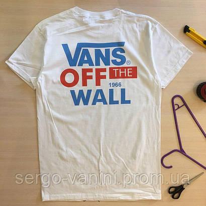 Футболка Vans Off The Wall | Бирка | Реальные фотки