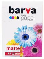 Бумага матовая BARVA 180 г/м2 А4 50+10 арк (IP-A180-251)