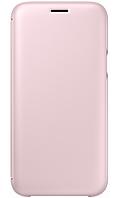 Чехол Samsung J7 (2017)/J730-EF-WJ730CPEGRU - Wallet Cover Pink