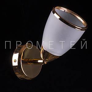 Бра спот на 1 лампочку. P3-76920/1W/FG+WT