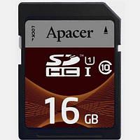 Карта памяти Apacer SDHC 16GB Class 10 UHS-I