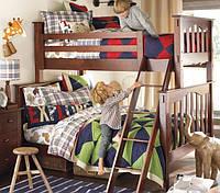 """Двухъярусная кровать """"Классика"""" с широким спальным местом"""