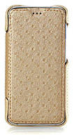Чехол Red Point BRAVIS A506 Crystal - Book case Gold