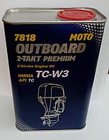 Масло Mannol TC-W3 2х такт. 1 л