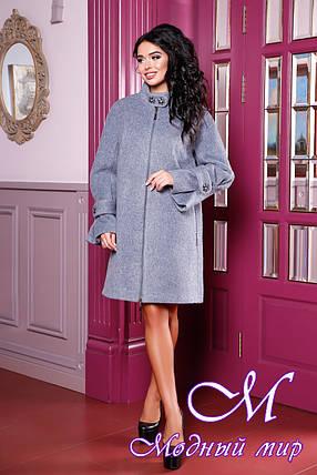 Женское элегантное пальто больших размеров (р. 44-60) арт. 984 Тон 19, фото 2
