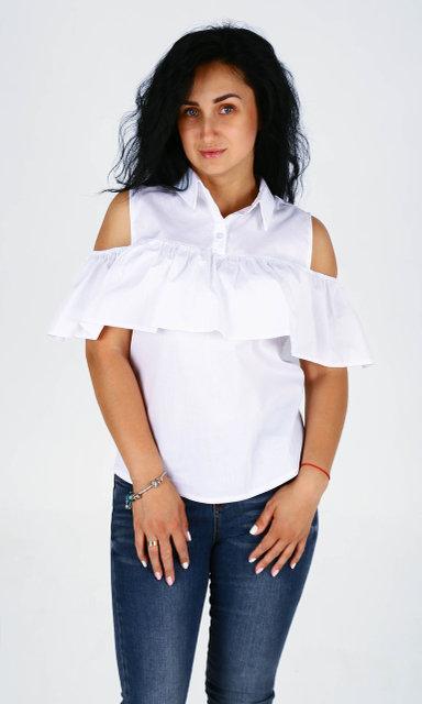 Красивая молодежная блузка