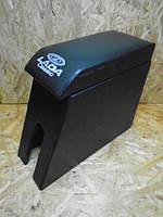 Подлокотник ВАЗ 2105-2107 черный с вышивкой