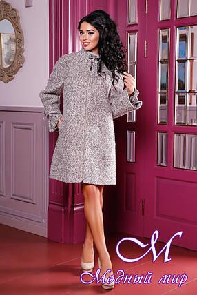 Женское красивое пальто больших размеров (р. 44-60) арт. 984 Тон 019, фото 2