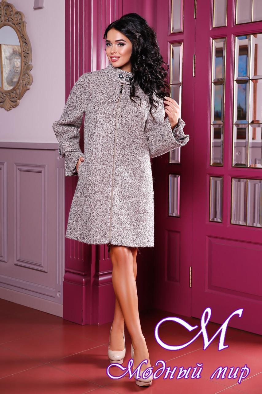 Женское красивое пальто больших размеров (р. 44-60) арт. 984 Тон 019