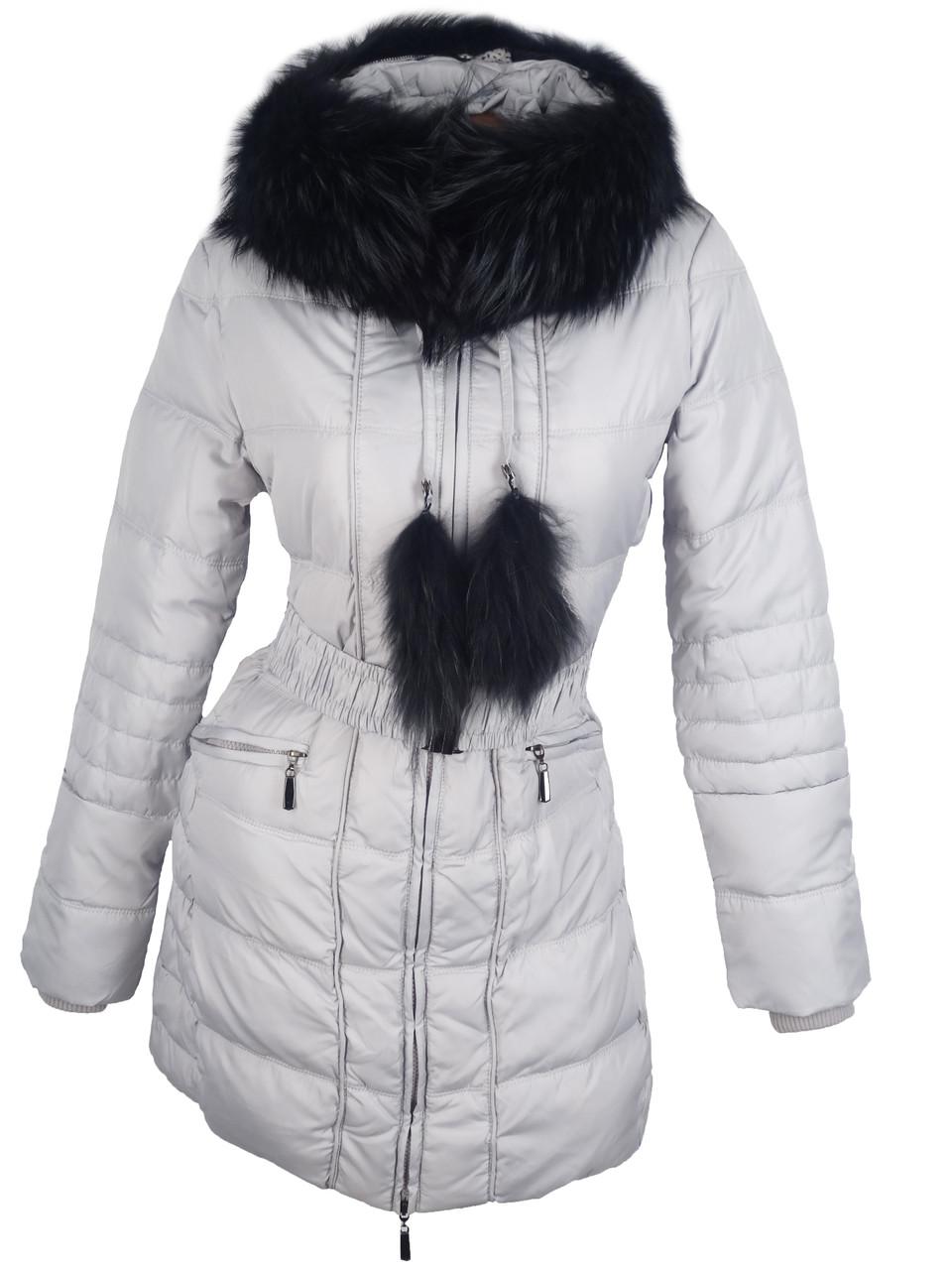 Модная куртка Tuleh с меховым воротником