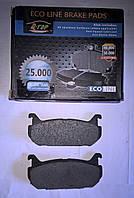 Тормозные колодки задние Mazda 626 (GE)