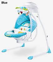 Детское кресло-качалка Caretero Bugies blue