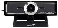 Веб-камера Genius WideCam F100 black