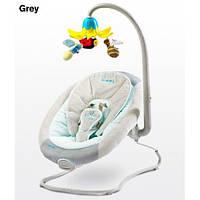 Детское кресло-качалка Caretero Blossom grey