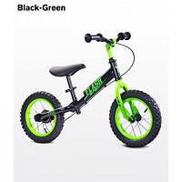 Беговел Caretero Flash black-green