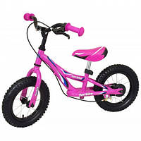 Беговел Alexis-Babymix WB006 pink надув. колеса