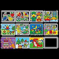 Набор для обучения Gigo Набор рабочих карт для мозаики (1192-2)