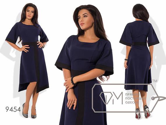 Платье миди с асимметричной юбкой, фото 2