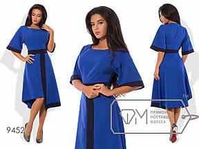 Платье миди с асимметричной юбкой, фото 3