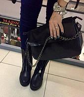 Сумка натуральная кожа черная ss25827 кожаные сумки , клатч клатчи