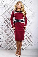Стильное платье большого размера 2334