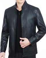 Мужская кожаная куртка. Модель 61114