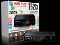 Эфирный цифровой Т2 тюнер World Vision T62D Интернет + Youtube + AC3