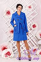 Демисезонное женское пальто (р. 44-54) арт. 1008 Тон 7