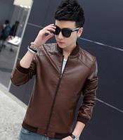 Мужская кожаная куртка. Модель 61115
