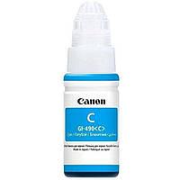 Водорастворимые чернила для принтера Canon GI-490 Cyan (0664C001)