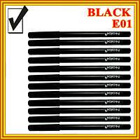 Черный Матовый Карандаш для Глаз Косметический Nabi Black, Набором в 12 шт.