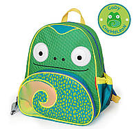 Рюкзачок Хамелеон Skip Hop Zoo Little Kid Chameleon Green Backpack