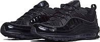 Купить кроссовки Supreme x Nike Air Max 98 Black в магазине tehnolyuks.prom.ua 096-6964130