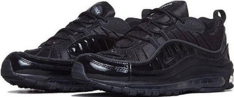 ee34f1d7 Купить кроссовки Supreme x Nike Air Max 98 Black в магазине  tehnolyuks.prom.ua