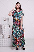 Молодежное, стильное платье Мино маки с капюшоном р.42-56, фото 1