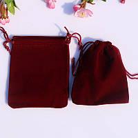 Подарочный мешочек для украшений красный