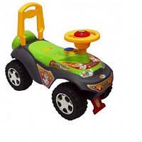 Машинка-каталка Alexis-Babymix 7600 green